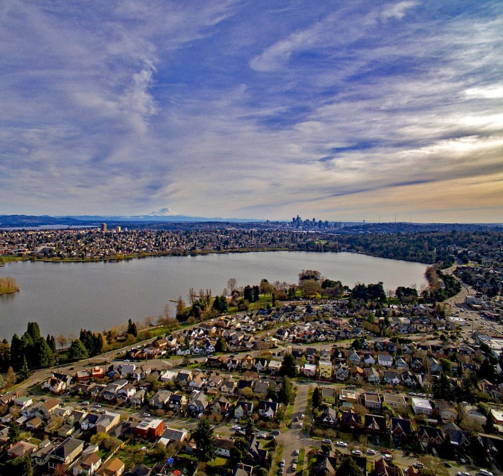 Greenlake & Downtown Seattle | PC: Bart Brueck