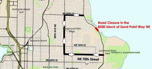 Sand Point Way Closure